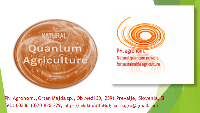 """LOGO Quantum Agriculture - Updating of (Intensive) Agriculture by Natural """"Language of Frequences"""""""