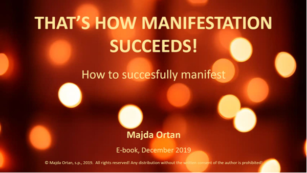 Slika2 COVER EN 1 - How manifestation succeeds; eBook, Majda Ortan, 2019
